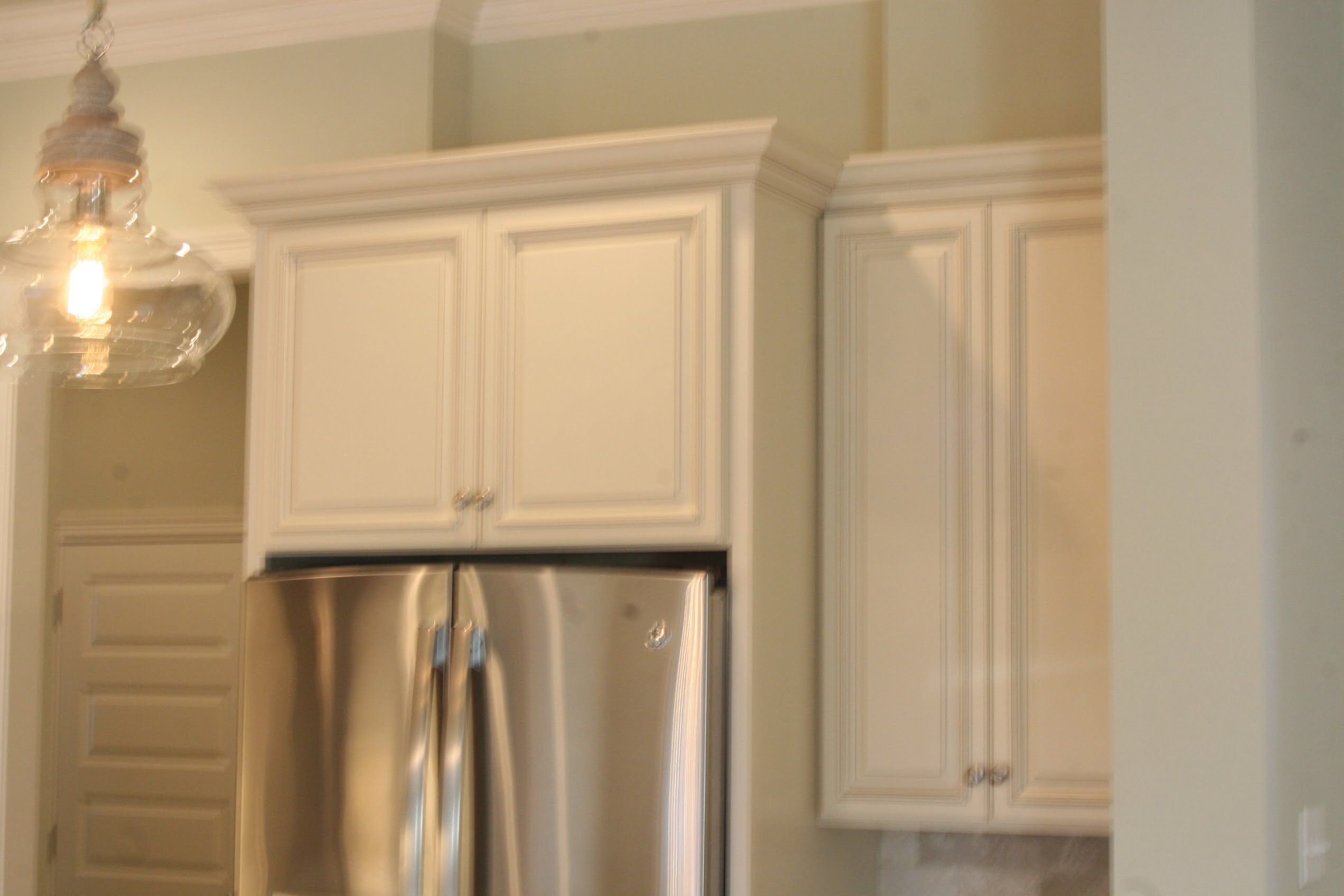 How To Install Refrigerator Panels Refrigerator Panels Installing Kitchen Cabinets Kitchen Cabinets