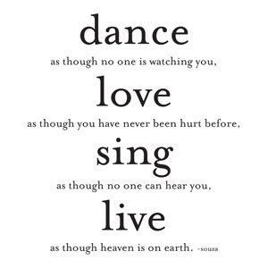 Magnet Dance Love Sing Live Dance Quotes Dance Quotes Inspirational Quotes To Live By