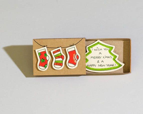 Liebe Weihnachtskarte - Weihnachtssocken Dieses Angebot ist für ...