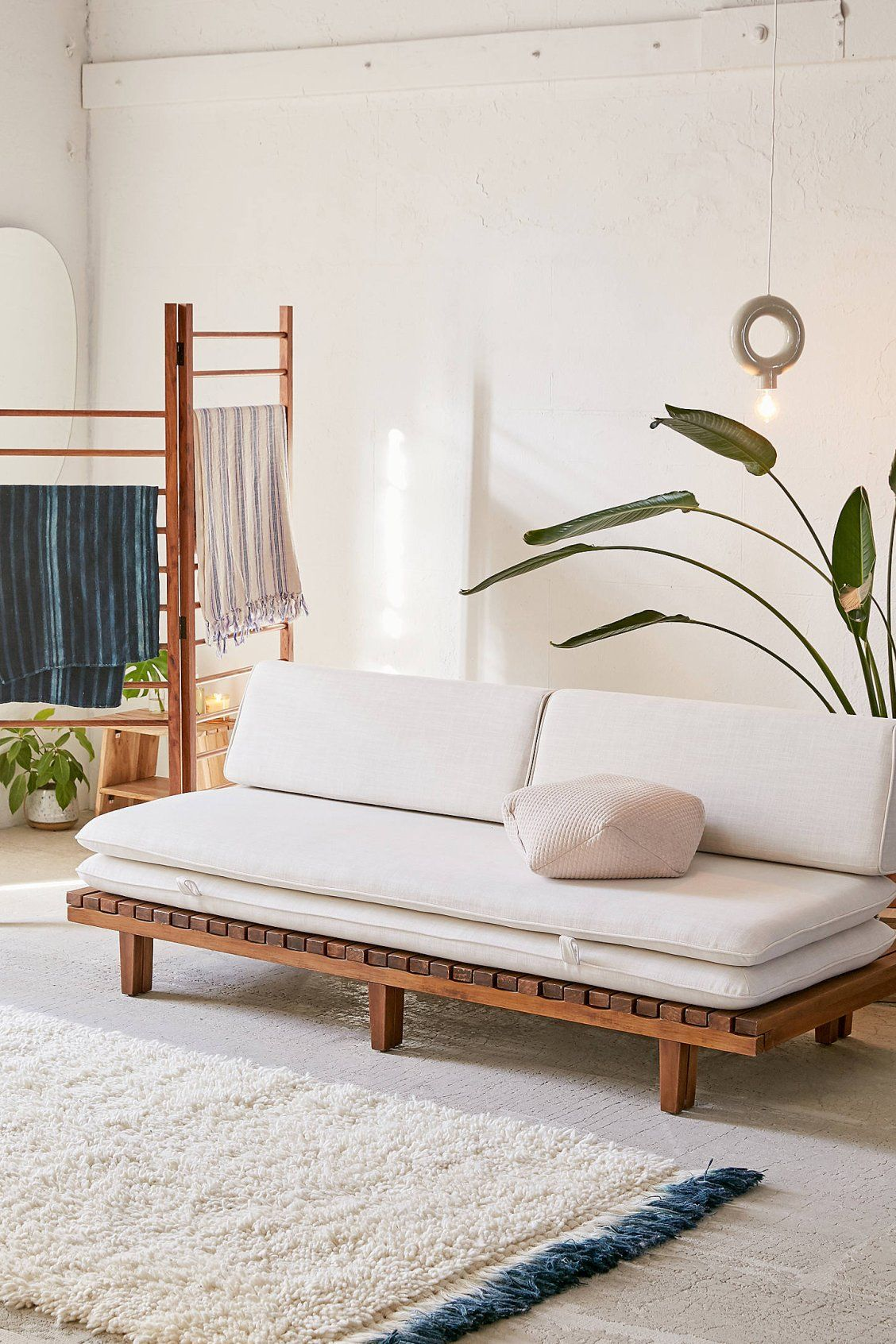 Osten Convertible Daybed Sofa Daybed Sofa Wood Daybed