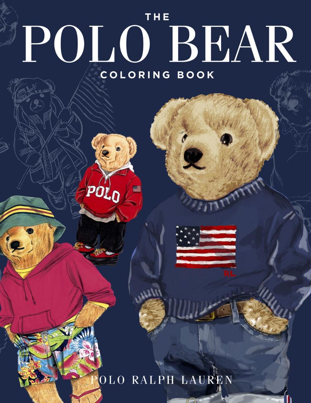 The Polo Bear Coloring Book By Polo Ralph Lauren Polo Ralph Lauren Ralph Lauren Logo Ralph Lauren Purple Label