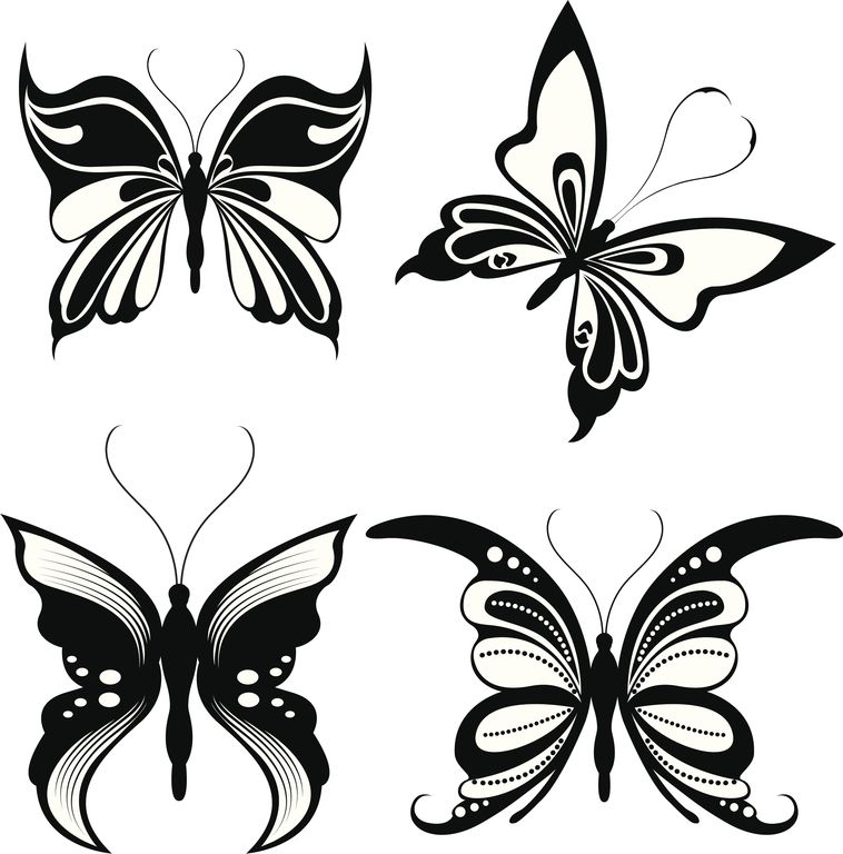 Dibujos De Mariposas Para Tatuajes Tattoos That I Love Pinterest - Fotos-de-mariposas-para-tatuajes