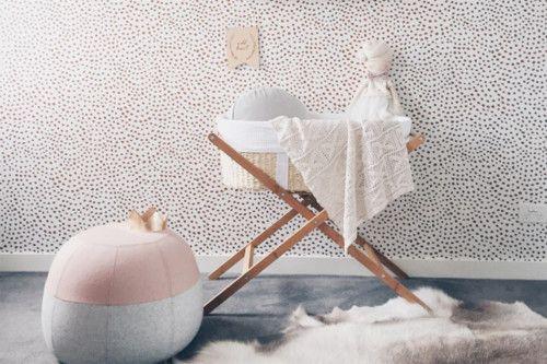 Babykamer Behang Grijs : Babykamer behang grijs slaapkamer sanne