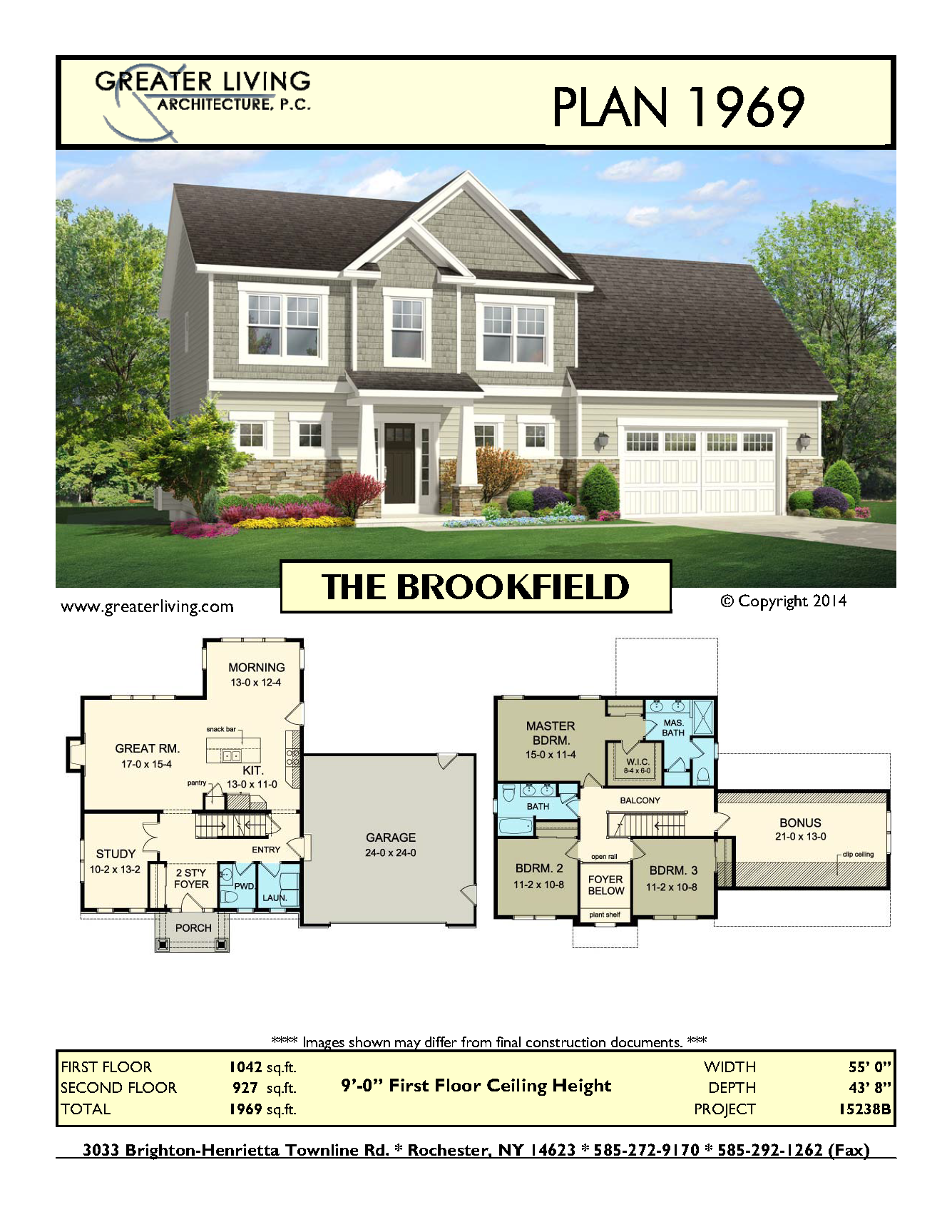Plan 1969: THE BROOKFIELD | floor plans and layout / home design ...