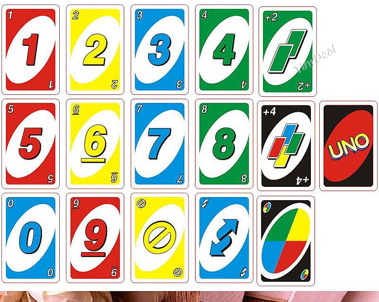 image regarding Printable Uno Cards known as 1/2/4 computer systems Humorous MIni UNO Card Activity Toy (112 Sheet) Bazaar