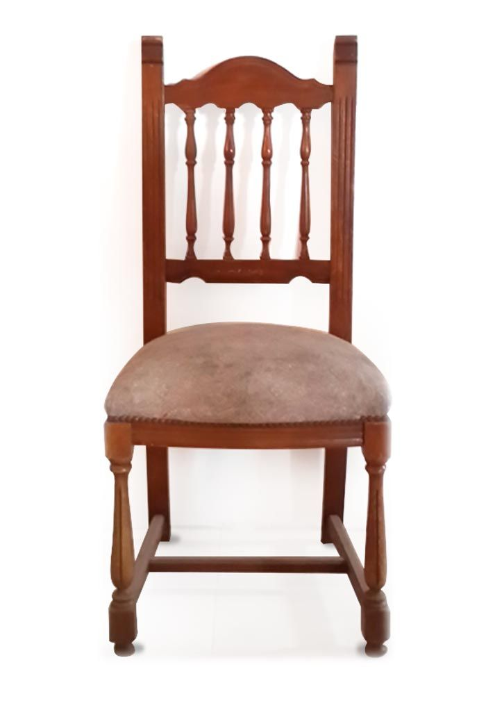 9dbd2f155 Silla estilo Española, antigüa, de madera de ROBLE. Av. Santa Rosa 2173