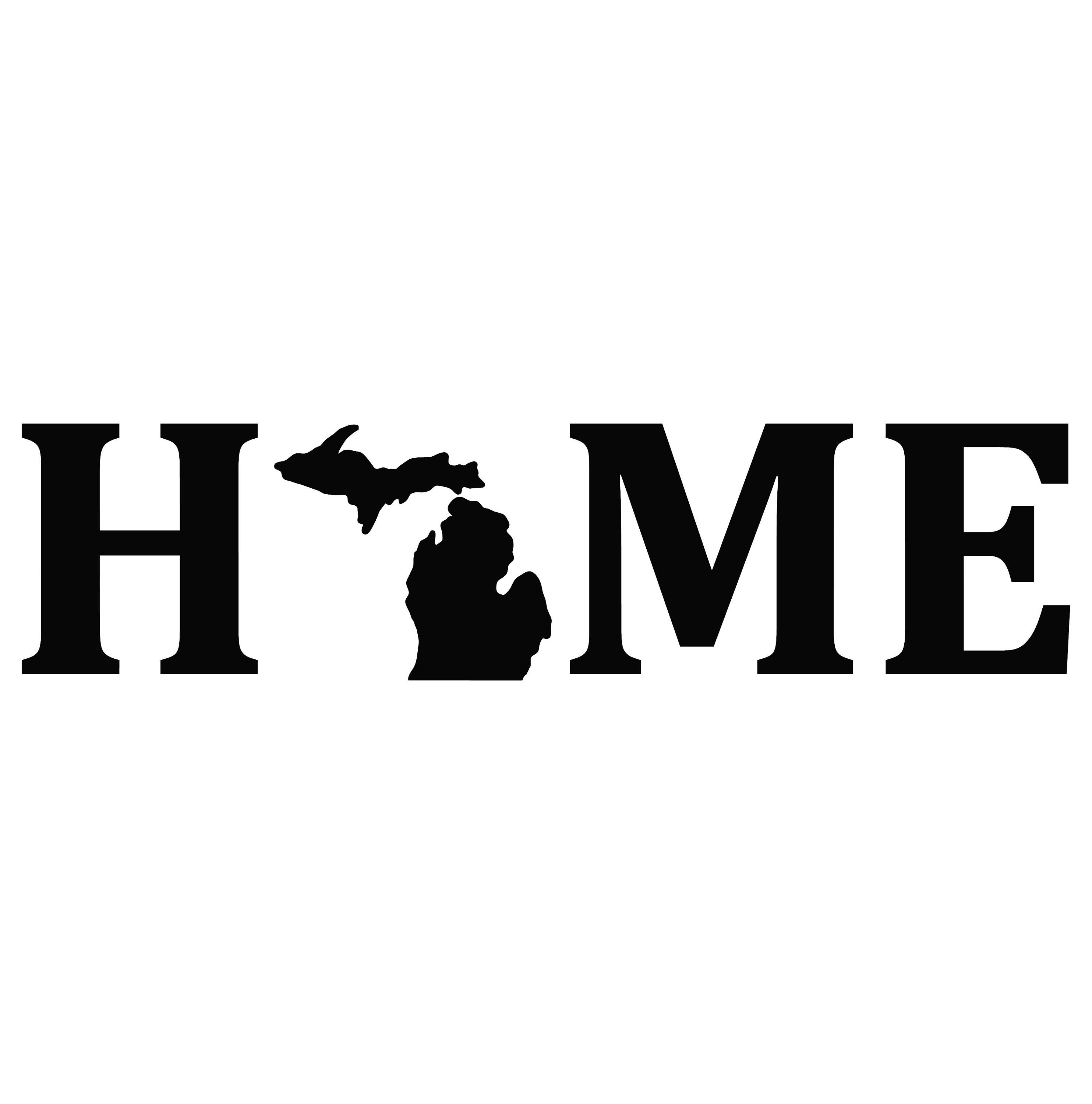 Michigan Is Home Vinyl Decal Sticker Multiple Color Choices Etsy Vinyl Decals Vinyl Michigan [ 3000 x 2967 Pixel ]