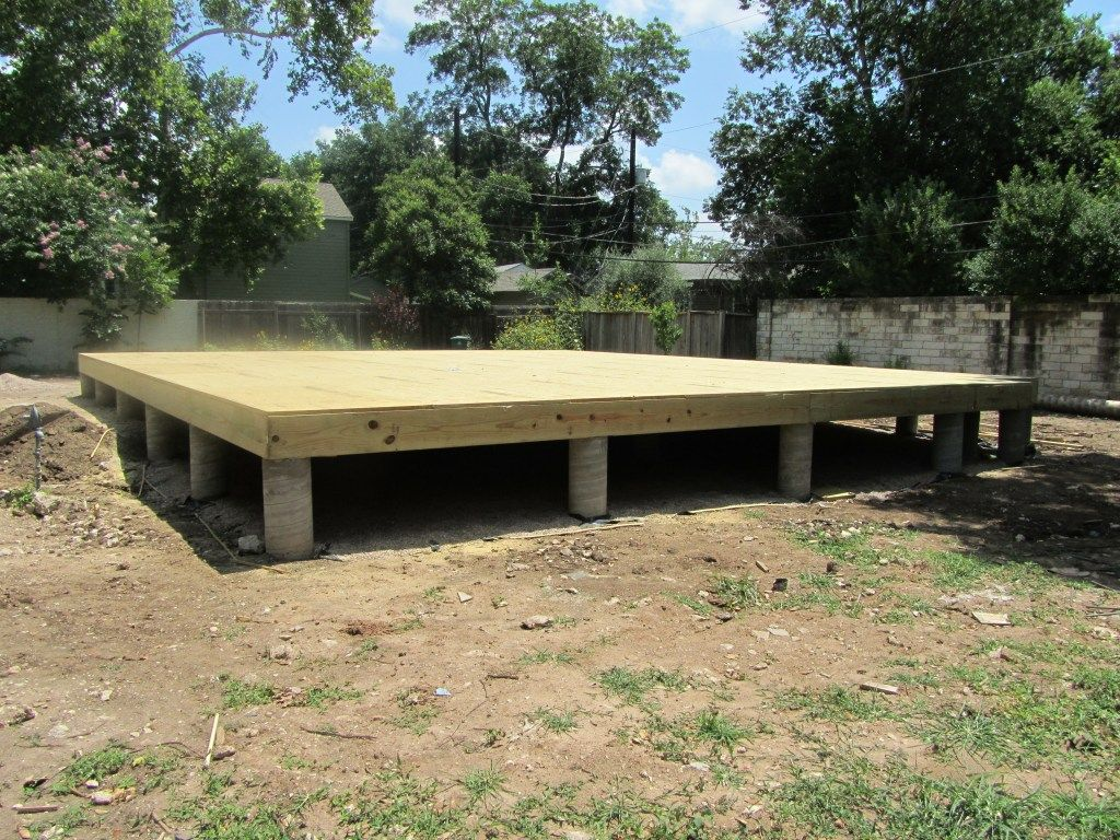 Building a Strong Foundation Pier and beam foundation