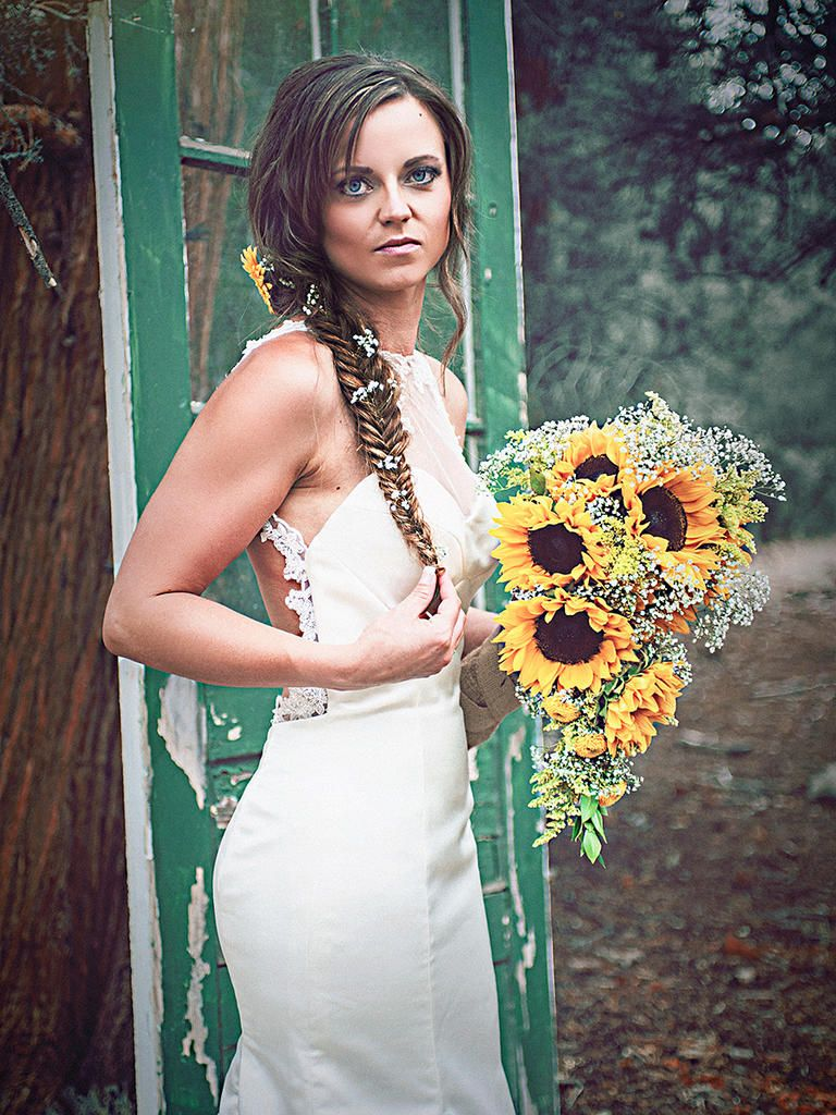 wedding hairstyles for long hair with braids fishtail fresh