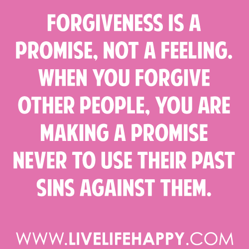 Quotes On Forgiveness And Second Chances: Quotes & Sayings
