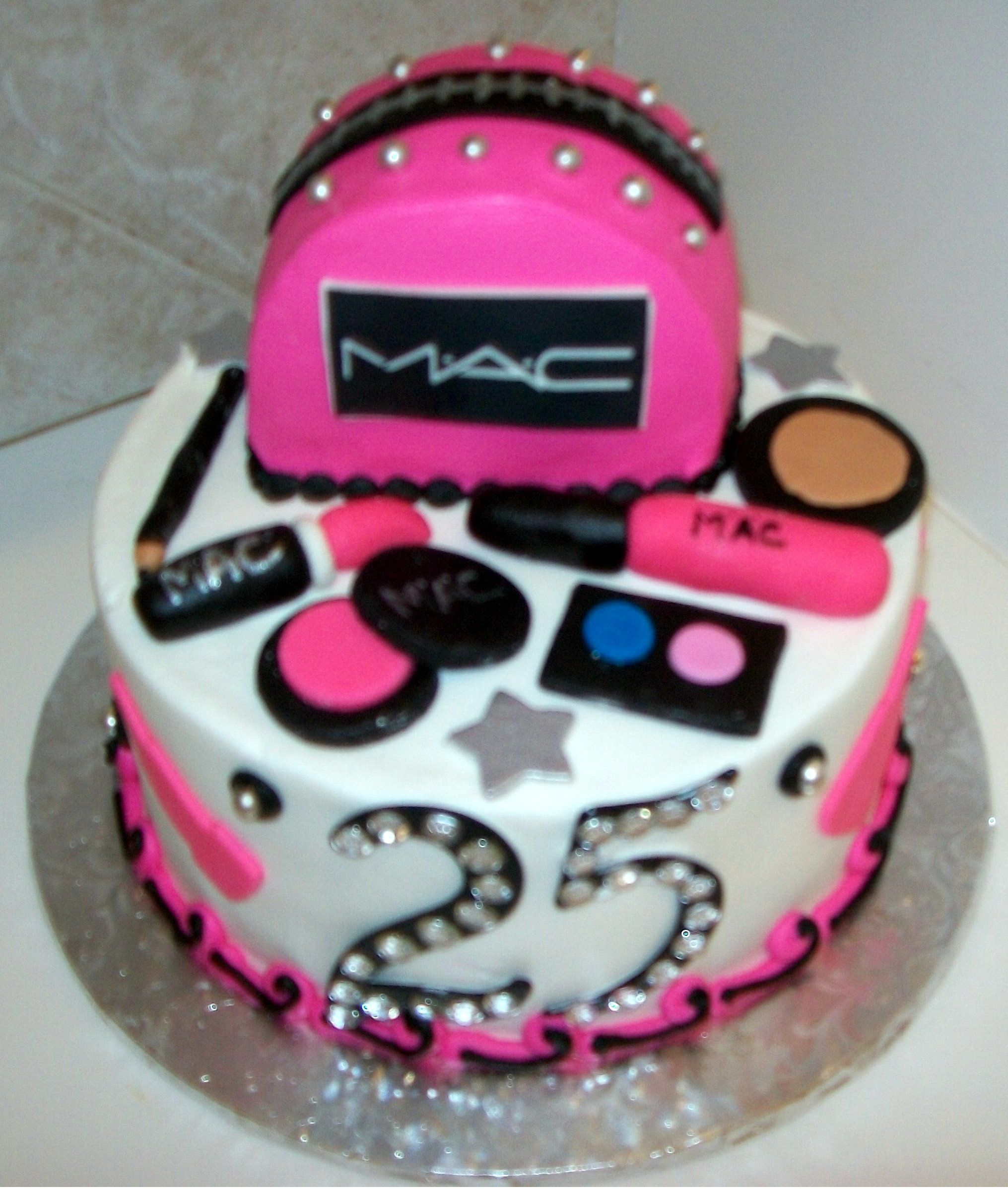 I ve got a 25th birthday MAC cake coming up... Cakes