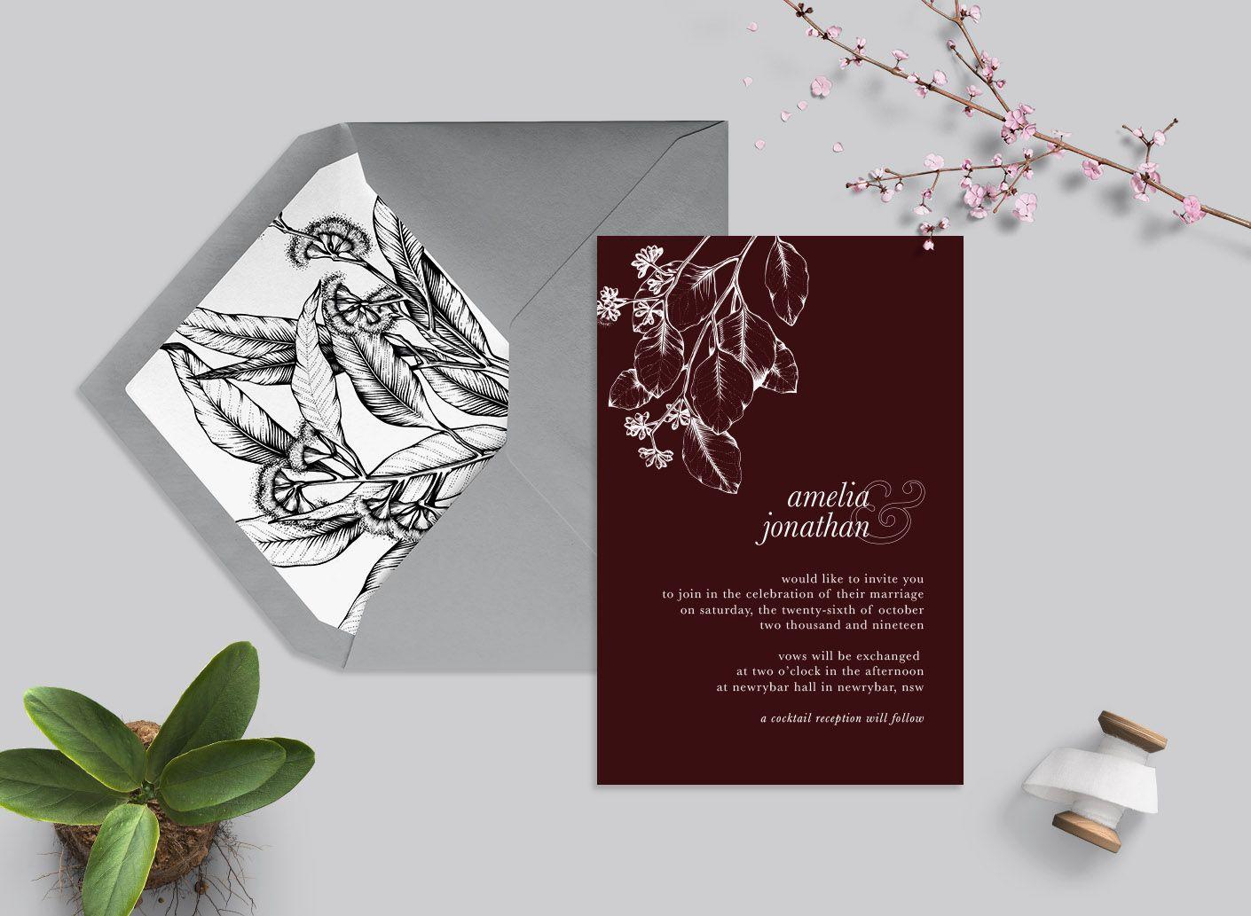 'Vintage Eucalyptus' Suite (more colours Wedding