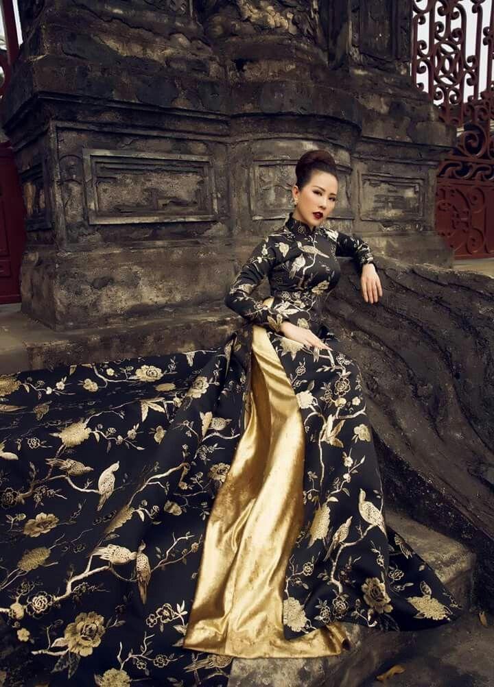 Love the design... Vietnamese traditional dress