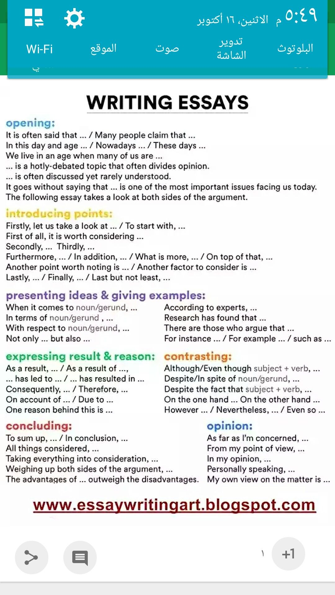 Pin By Ahmad Hamad On Writing An Essay