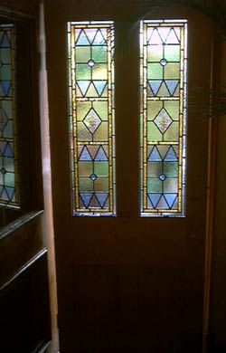 Front Door Window Triangles Diamonds Stained Gl Windows And Doors From Pete Conle Walsall Artist West Midlands