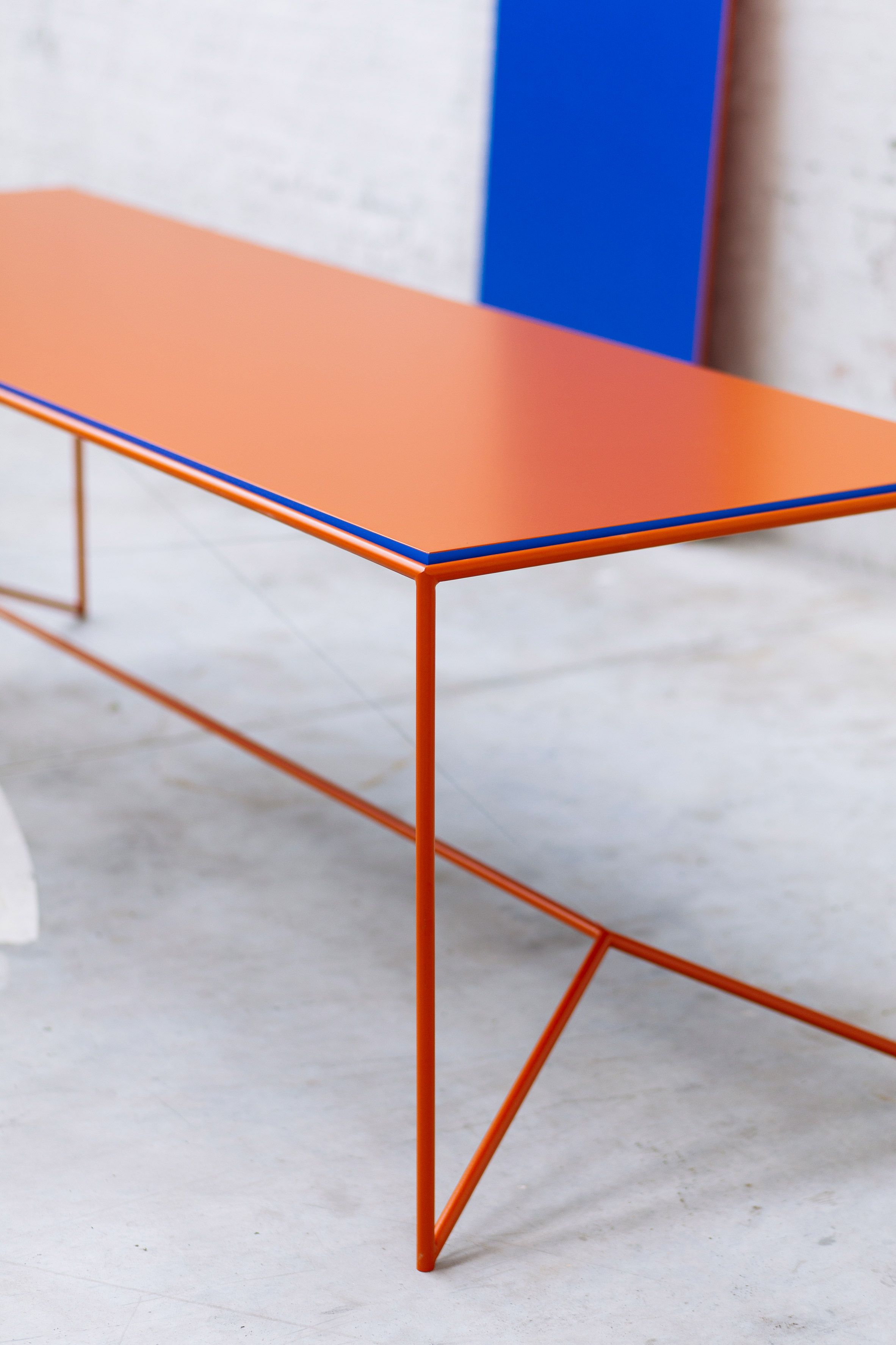 Photo of Maria Scarpulla's tables with flippable tops are designed to…