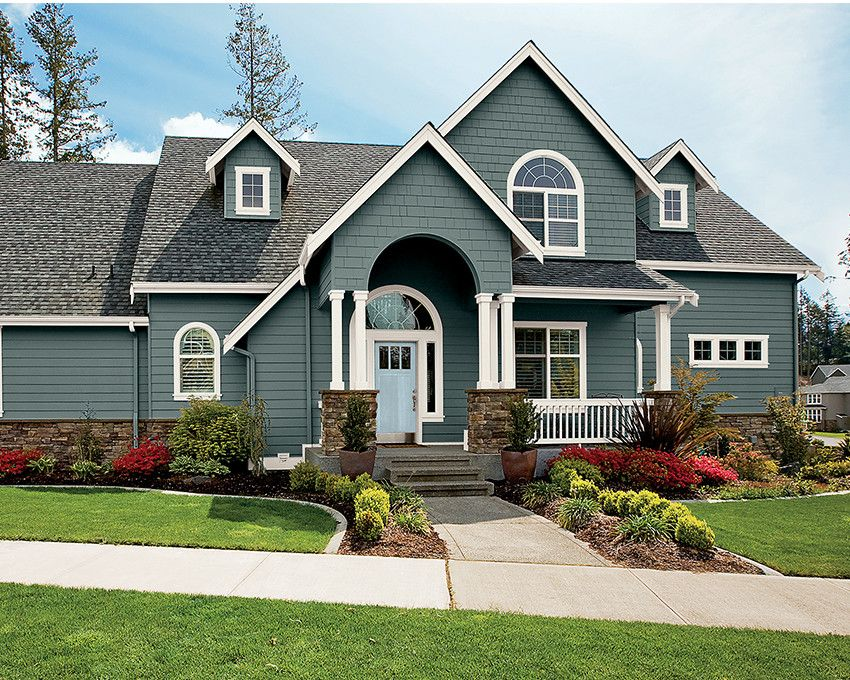 Get A Little Inspiration House Exteriors Ranch Homes Paint - Brick home exterior color schemes