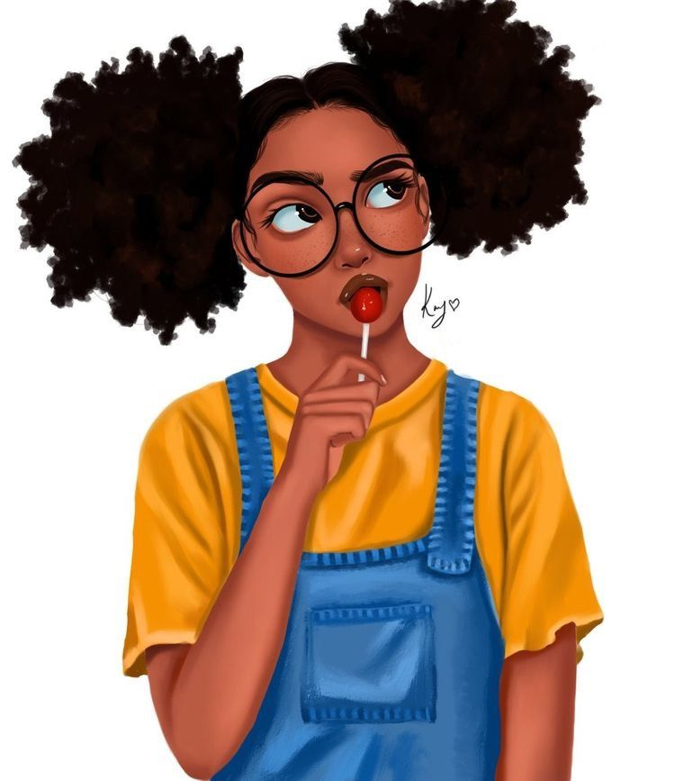 Pin By On Black Magic In 2020 Curly Hair Styles Easy Curly Hair Styles Drawings Of Black Girls