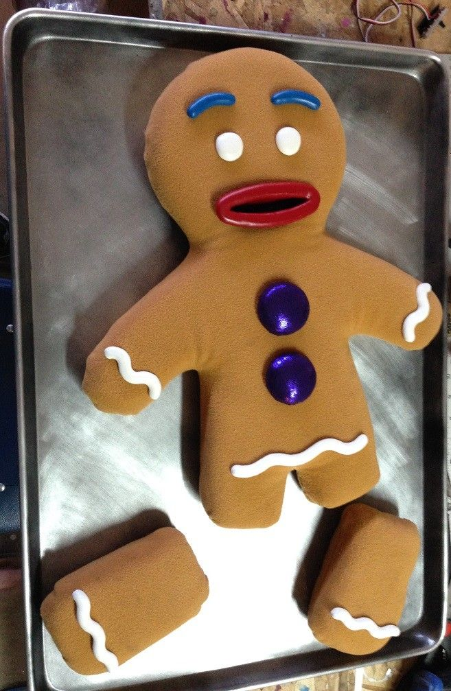 GIngy Gingerbread Man | Shrek | Pinterest | Gingerbread ...