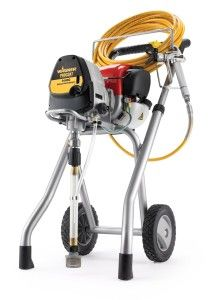 The Wagner 9185g Twin Stroke Gas Airless Paint Sprayer Is The Innovative Solution To Painting Where Electric Power Paint Sprayer Sprayers Paint Sprayer Reviews