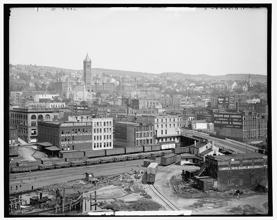 Onceuponatown Duluth Minnesota History Duluth North Shore Minnesota