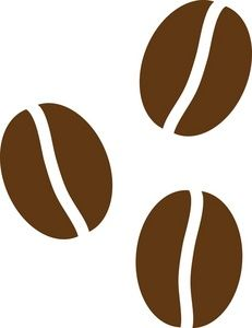 coffee beans clipart image coffee beans dreaming of home rh pinterest com coffee bean border clip-art I Need Coffee Clip Art