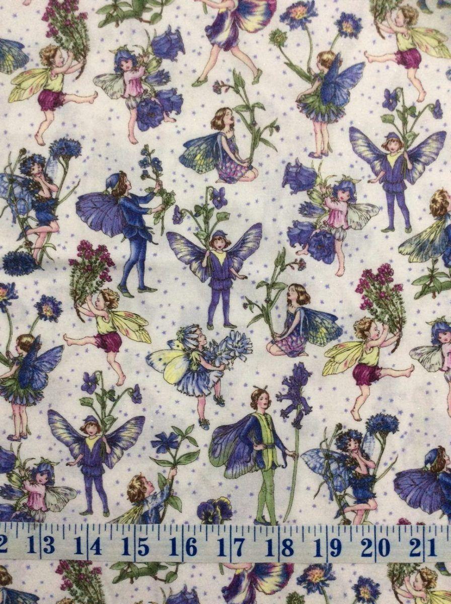 Fairies peri petite fairy michael miller cotton quilting