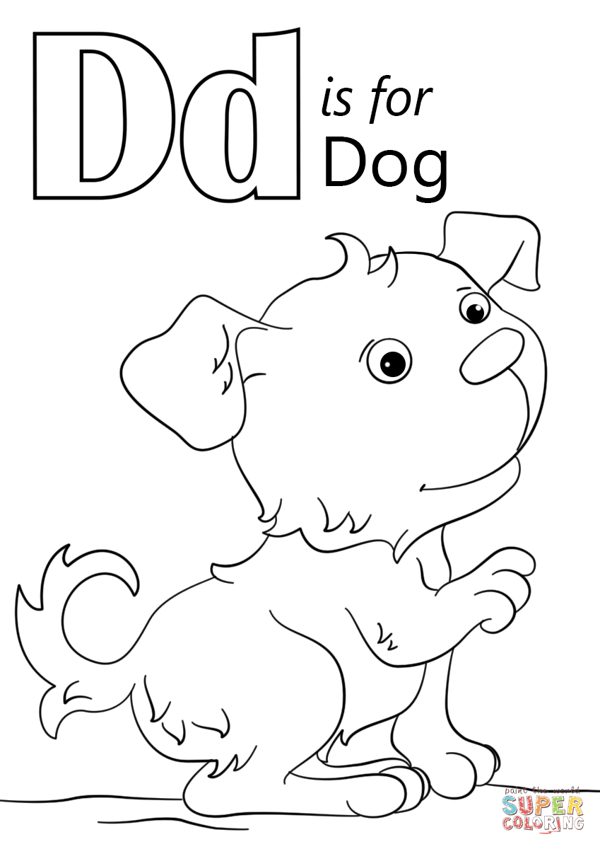 letter d coloring pages preschool black | نتيجة بحث الصور عن ‪letter d dog worksheet ...