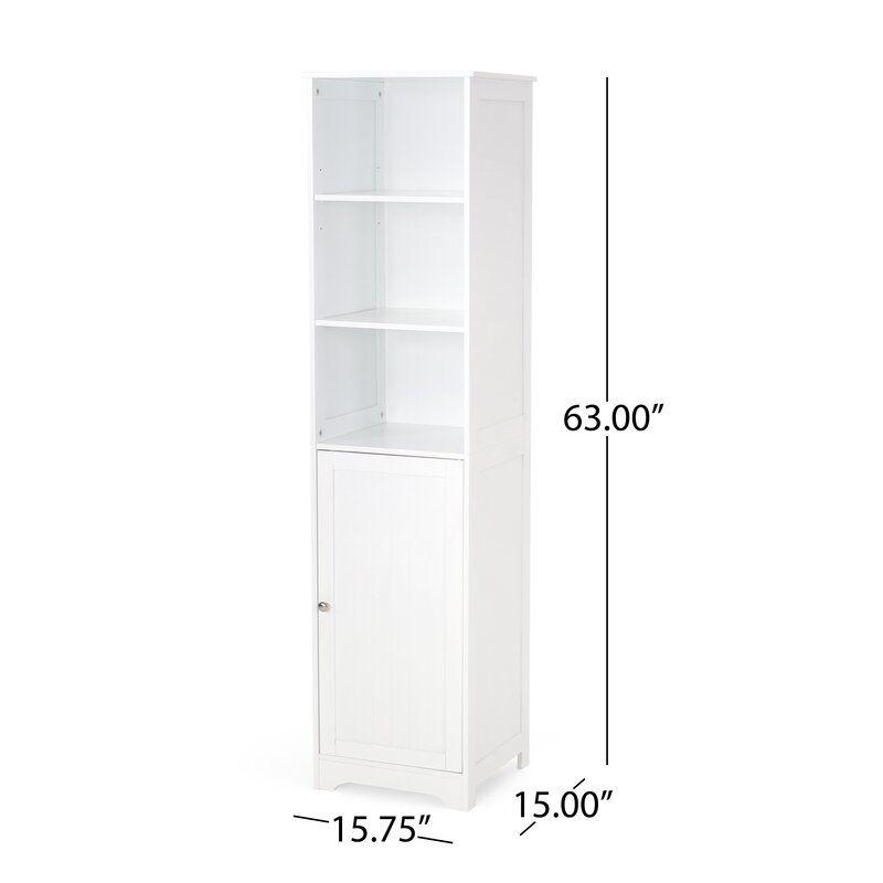 34++ Elijaah 1575 w x 63 h x 15 d free standing bathroom cabinet type