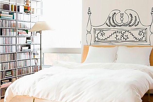 Cabecero de cama con vinilo 5 cabeceros de cama modernos