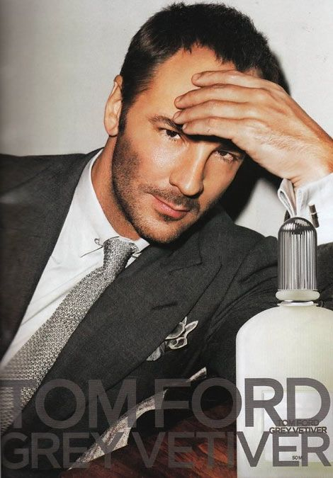 Tom Ford For Tom Ford Grey Vetiver Photo Tom Ford Ad Campaigns