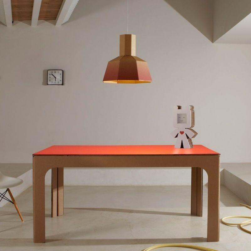Pappmöbel aus der italienischen Marke Kubeldesignit DIY - Möbel - designer mobel materialmix