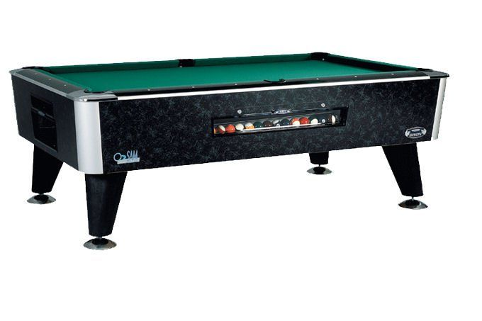 Attirant Bison Slate Bed American Pool Table