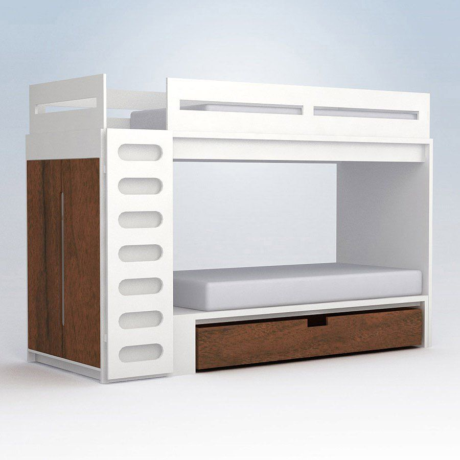 Contemporary Bunk Beds bunk up! contemporary bunk beds for mod tots | bedrooms, kid and
