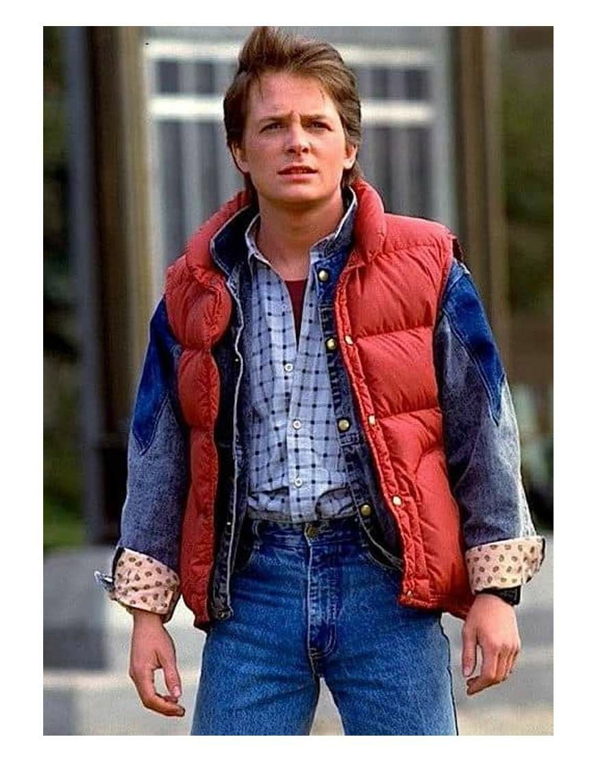 Pin By Jennifer Reed On Back To The Future Trilogy Pics In 2021 Marty Mcfly Vest Back To The Future Jackets [ 1110 x 870 Pixel ]