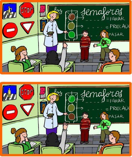 Encuentra Las Diferencia Taringa Halloween Words School Humor Picture Puzzles