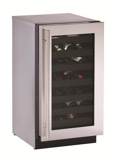 Contemporary Wine Refrigerator From U Line Model 3018wcs Built