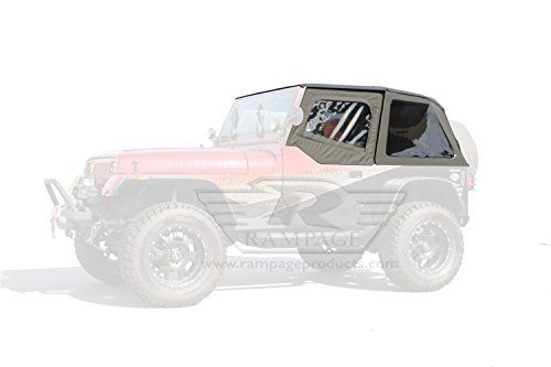 R&age 109435 Frameless Soft Top Kit with Door Skins and Surrounds 1992-1995 Wrangler  sc 1 st  Pinterest & Rampage 109435 Frameless Soft Top Kit with Door Skins and Surrounds ...
