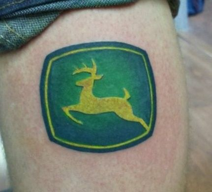 the gallery for john deere tattoos pictures. Black Bedroom Furniture Sets. Home Design Ideas