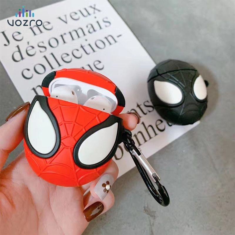 Airpods spiderman case cover airpod case apple