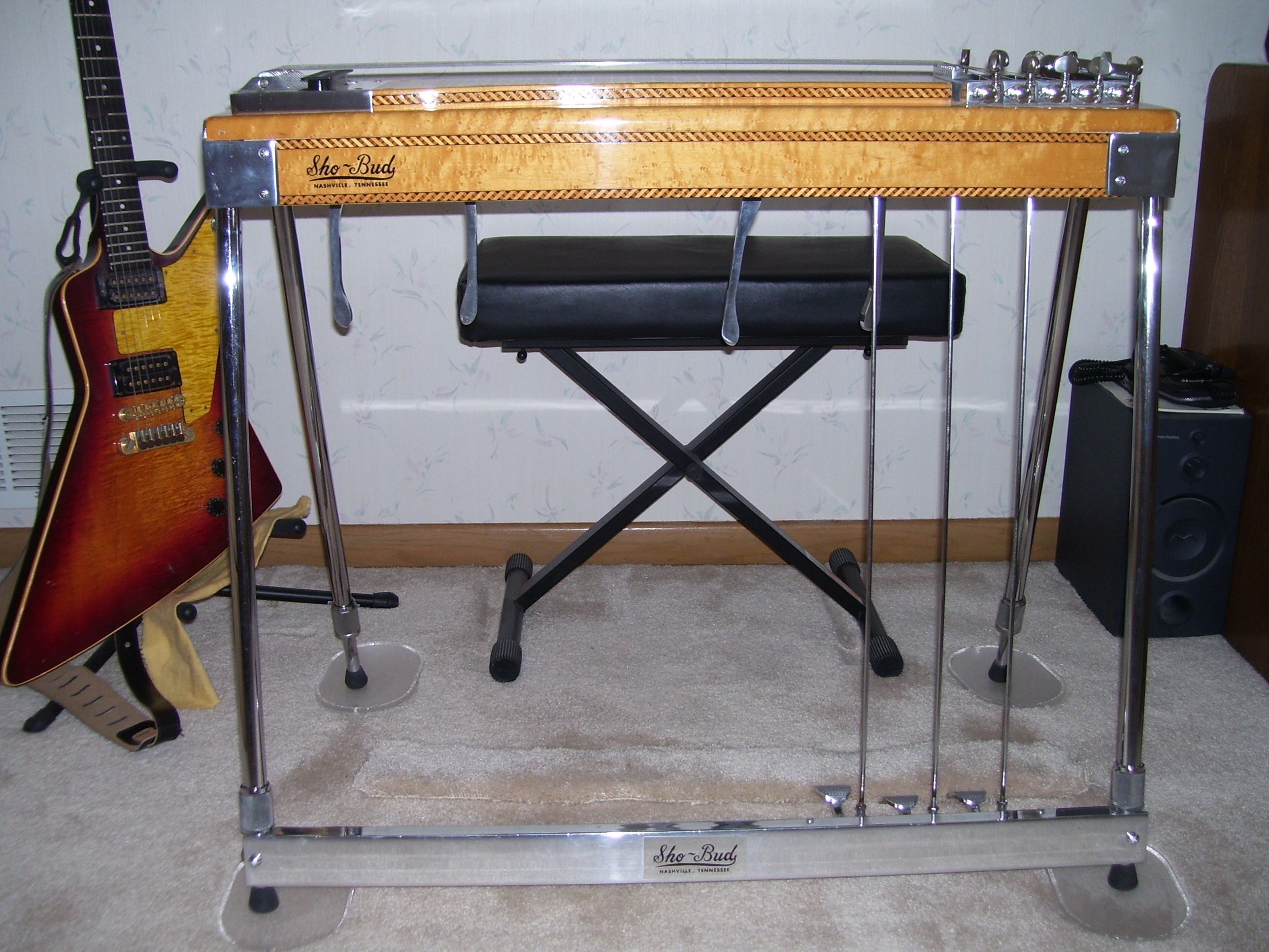 My Personal Vintage Year 1973 Sho Bud S 10 Pedal Steel Guitar Pedal Steel Guitar Lap Steel Guitar Steel Guitar