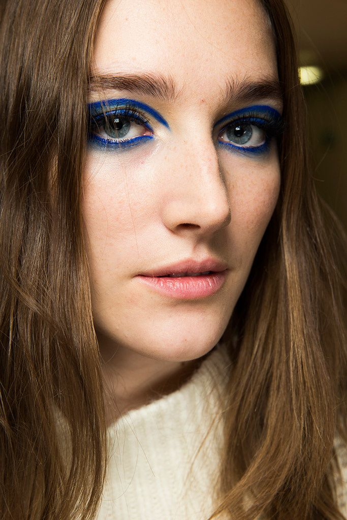 Versace Autumn/Winter 2014 Couture | Maquillage éditorial