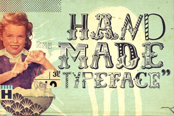 Handmade by Misprinted Type on @creativemarket