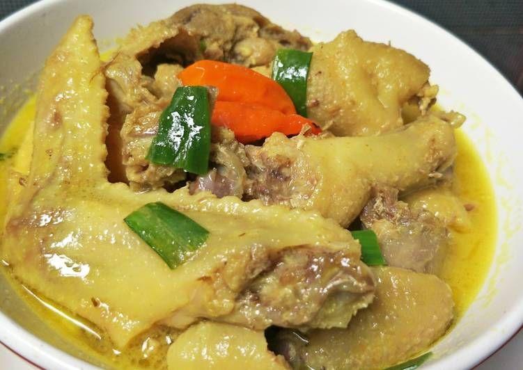 Resep Opor Ayam Kampung Lezat Resep Resep Makanan Resep Masakan