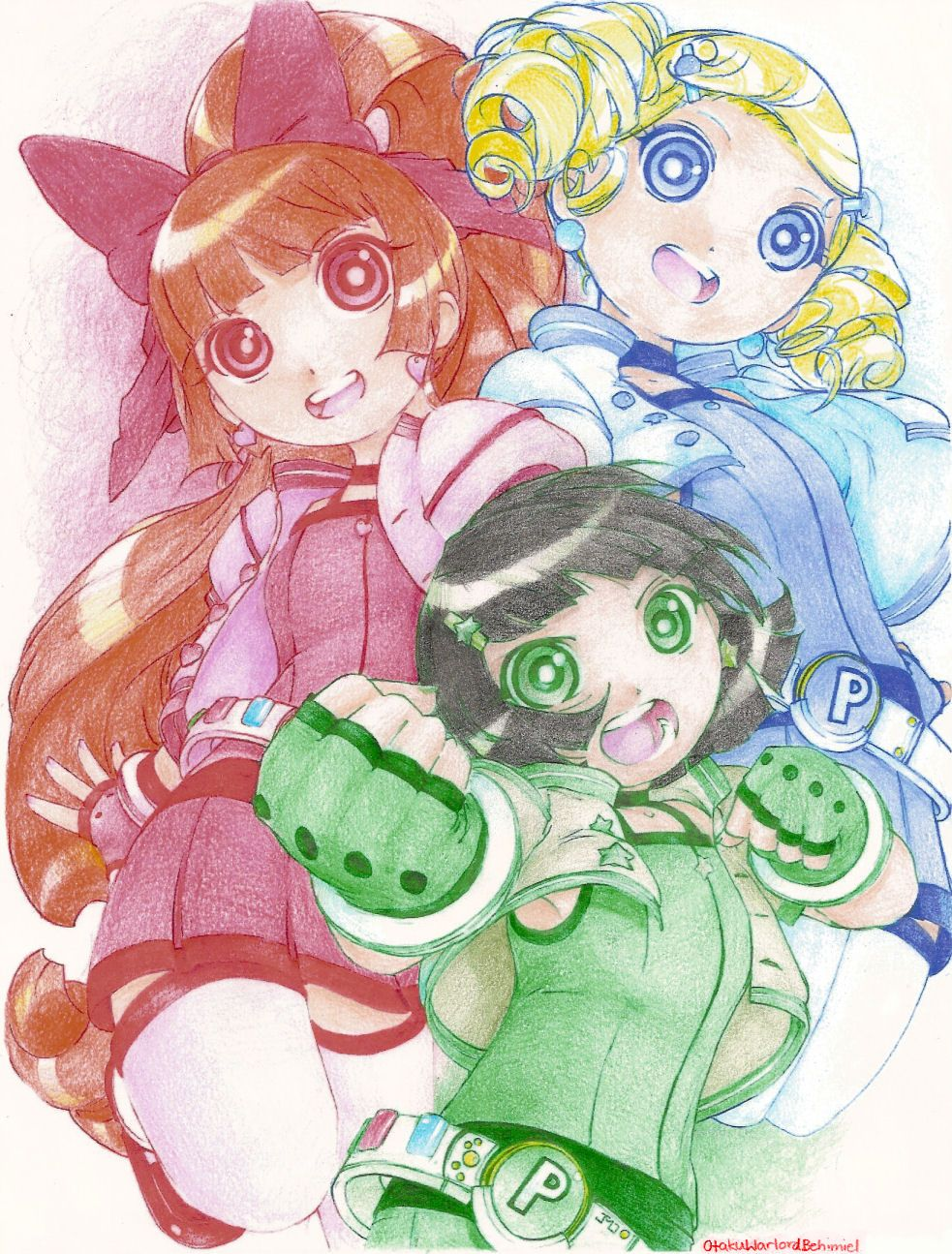 Powerpuff Girls Z Blossom Bubbles And Buttercup Chicas