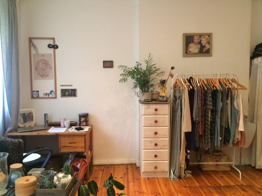 Aufbewahrung Kleidung ganz ordentliche ecke für kleidung mit kleiderstange und