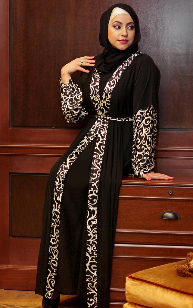 صور موديلات عبايات 2014 Abayas Abaya Designs Abayas Fashion Abaya Fashion
