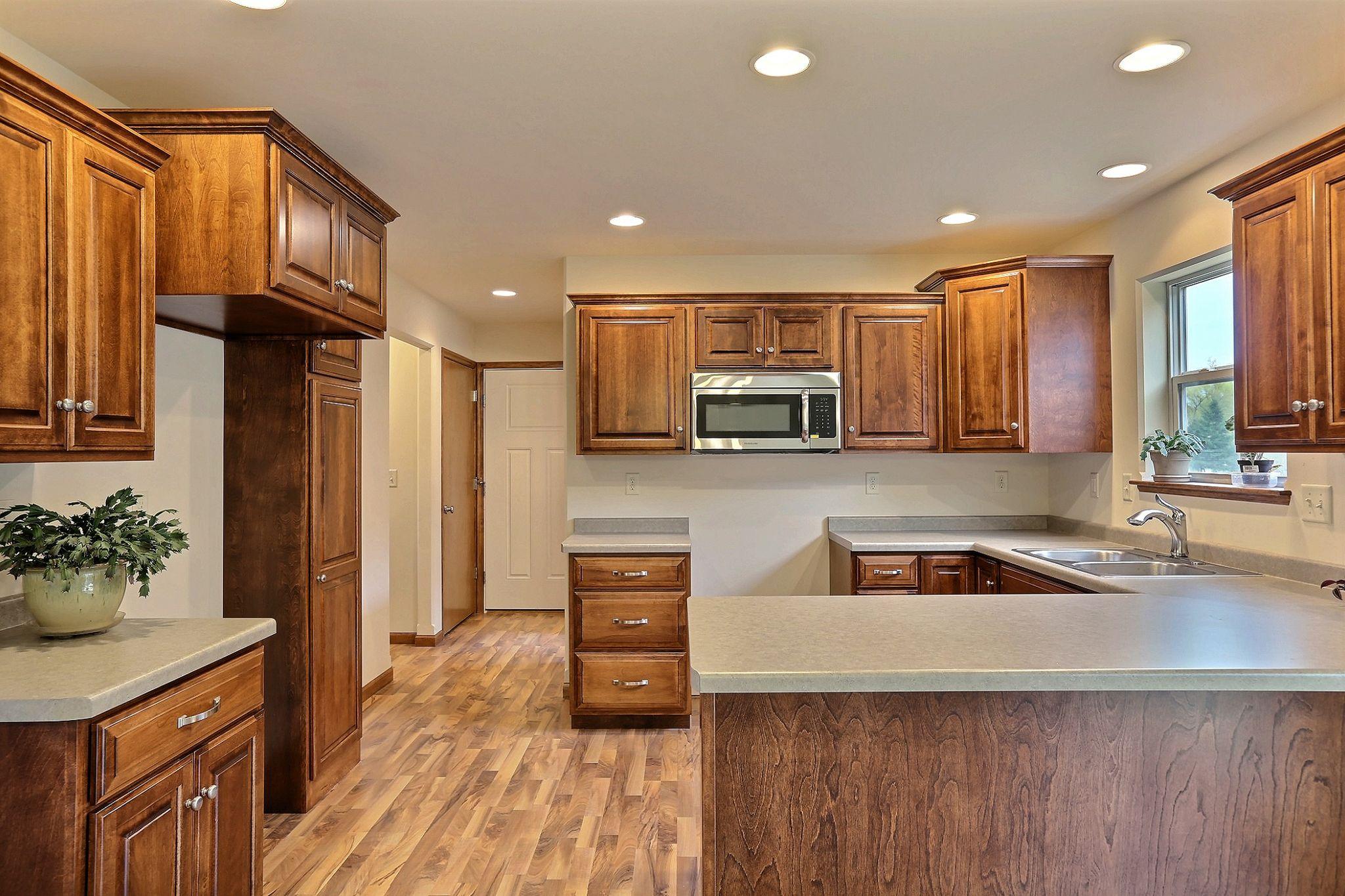 Walnut Kitchen Floor Mocha Floor Plan Custom B B Kitchen Cabinets Stained New