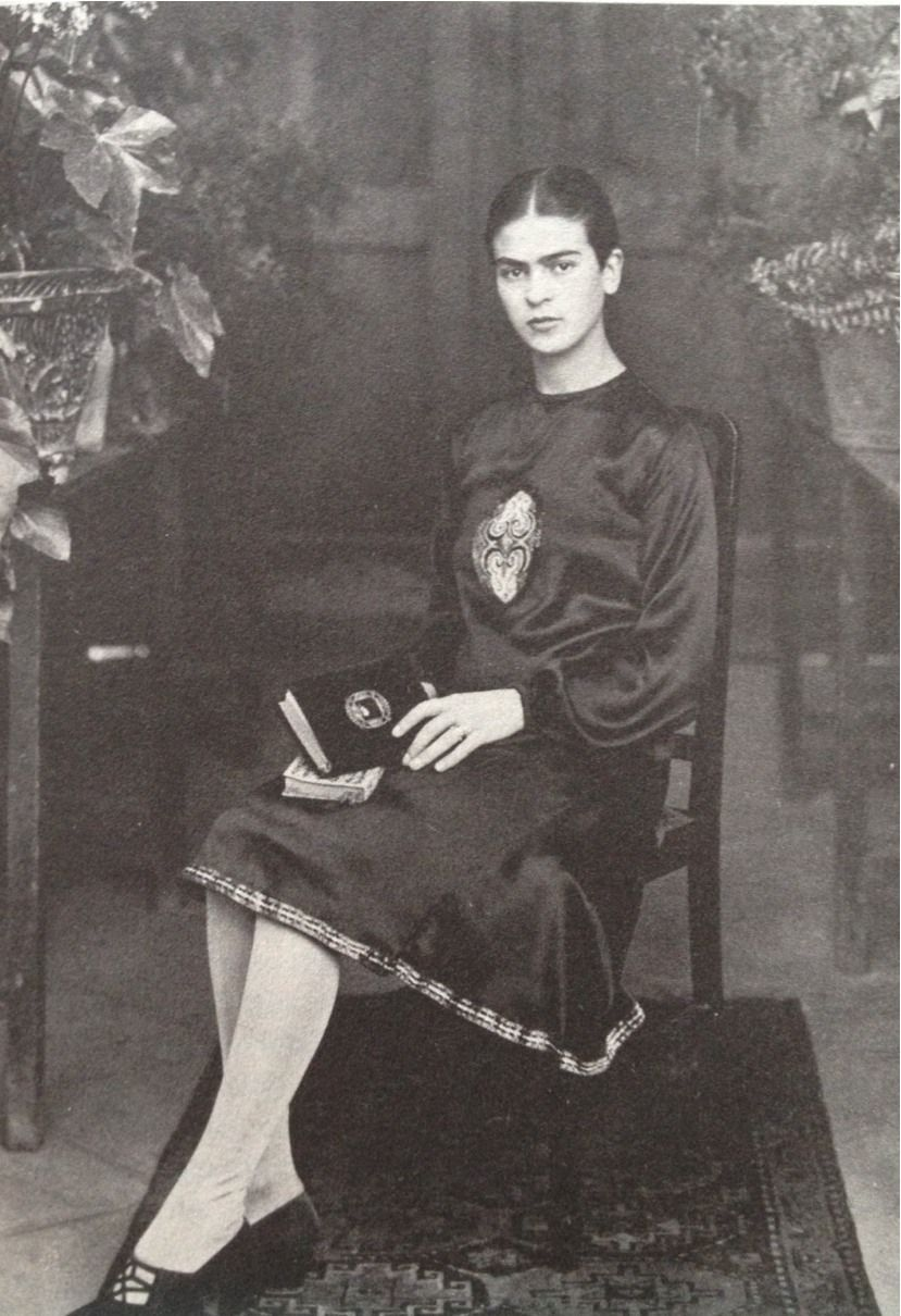 A young Frida Khalo, early 1920s