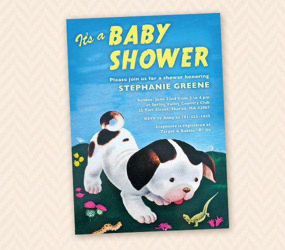 Poky little puppy inspired baby shower invitation design on etsy poky little puppy inspired baby shower invitation design on etsy 1377 aud filmwisefo